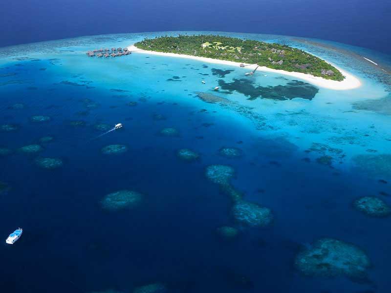 Maldives - Coco Palm Dhuni Kolhu - Vue aérienne