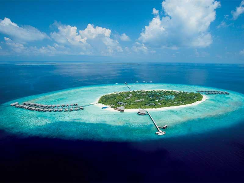 Maldives - JA Manafaru - Vue aérienne
