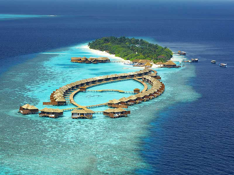 Maldives - Lily Beach Resort & Spa - Vue aérienne