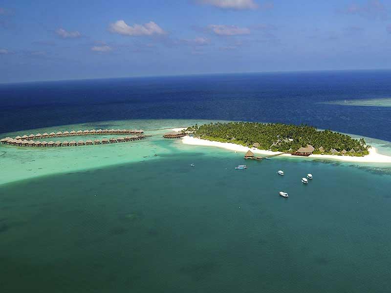 Maldives - Sun Siyam Vilu Reef - Vue aérienne