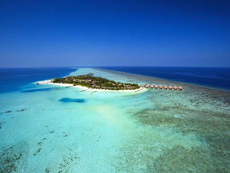 Maldives - Velassaru Maldives - Vue aérienne
