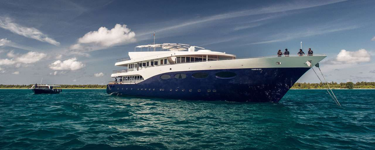 croisiere yacht maldives